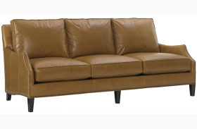 Kensington Place Ashton Brown Leather Sofa