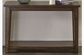 Lancaster II Antique Brown Sofa Table
