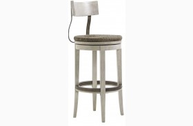 Oyster Bay Merrick Swivel Bar Stool