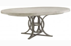 Oyster Bay Calerton Extendable Round Dining Table