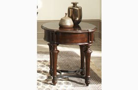 Kingston Plantation Round End Table