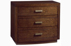 Laurel Canyon Verdes Warm Mocha Nightstand
