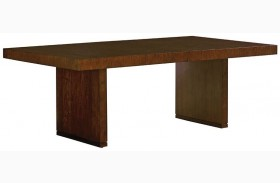 Laurel Canyon San Lorenzo Warm Mocha Extendable Rectangular Dining Table