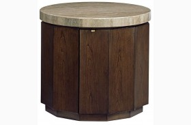 Laurel Canyon Glendora Drum Table