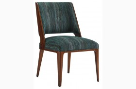 Take Five Blue Fabric Hayden Side Chair