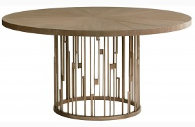 Shadow Play Rendezvous Wood Top Dining Table