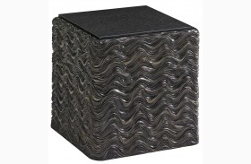 Shadow Play Talk Of The Town Cube End Table
