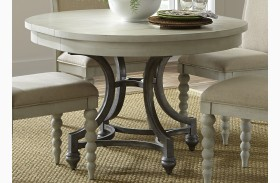 Harbor View III Extendable Round Dining Table