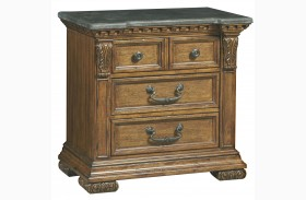 Stratton Medium Wood Nightstand