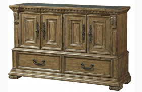 Stratton Medium Wood Sideboard