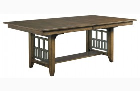 Bedford Park Extendable Trestle Dining Table