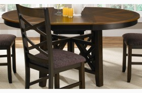Bistro II Oval Extendable Pedestal Table