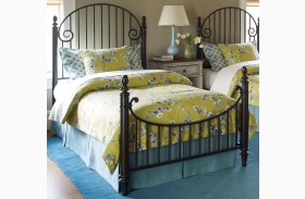 Weatherford Cornsilk Catlins Twin Metal Bed