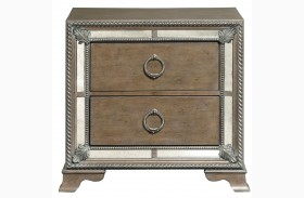 Karissa Light Wood Nightstand