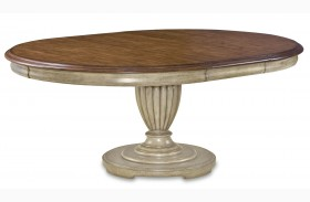 Provenance Round Extendible Dining Table