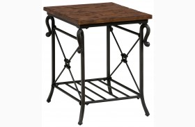 Rutledge Pine End Table
