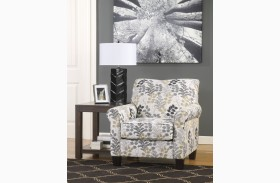 Makonnen Charcoal Accent Chair