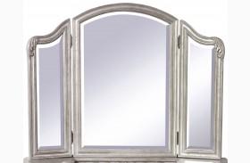 Rhianna Silver Patina Vanity Mirror