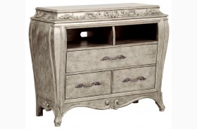 Rhianna Silver Patina Media Chest