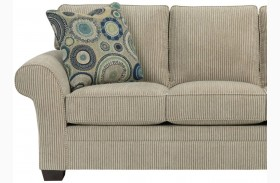 Zachary Affinity Chenille Fabric Loveseat