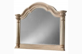 Belmar Antique Linen Starting Mirror