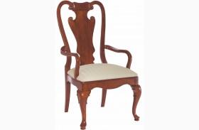 Cherry Grove Classic Antique Cherry Splat Back Arm Chair