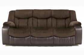 Tafton Java Reclining Sofa