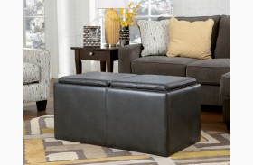 Hodan Marble Ottoman With Storage
