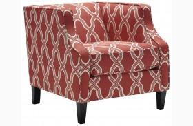 Sansimeon Coral Accent Chair