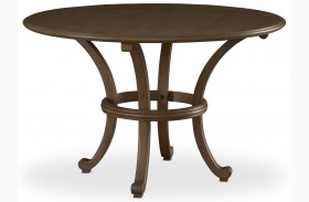 Open Seating Grey Mist Gianni Round Dining Table