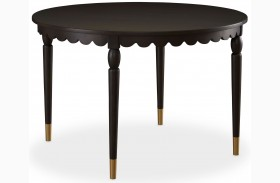 Open Seating Morning Coffee Pierre Round Dining Table