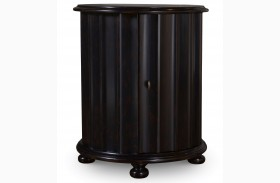 The Foundry Peppercorn Heathton Drum Table