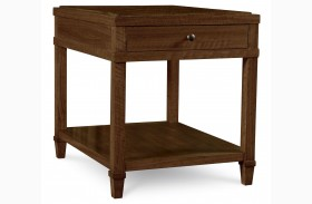 The Foundry Brownstone Crossroads End Table