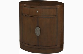 Claire De Lune Toasted Nutmeg Door Nightstand
