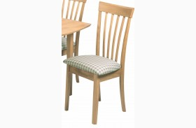 Lisa Natural Side Chair Set of 2