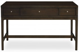 Improv in B Clear Brown and Maxi Teal Sofa Table