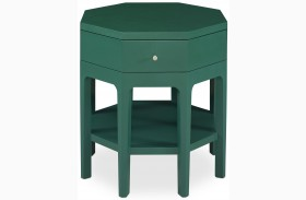 Improv in B Maxi Teal Octagon Accent Table