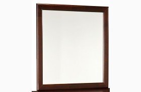 Lewiston Deep Brown Mirror