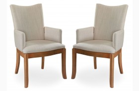 Sophisticate Arm Chair Set of 2