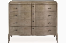 White Peony Mist Grey Duchess Dressing Chest