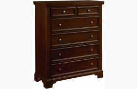 Hanover Dark Cherry 5 Drawer Chest