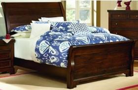 Hanover Dark Cherry Full Sleigh Bed