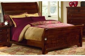 Hanover Cherry Full Sleigh Bed