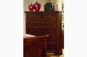Hanover Cherry 5 Drawer Chest