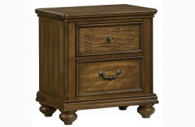Monterey Burnished Caramel Pine Nightstand