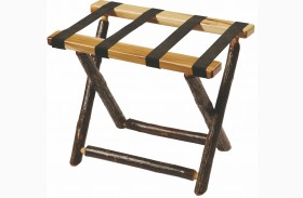 Hickory Luggage Rack