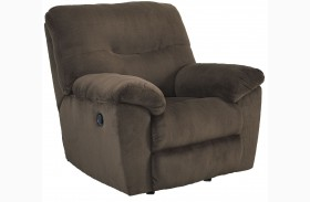 Slidell Chocolate Rocker Recliner