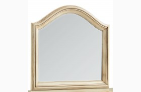 Chateau Antique French Bisque Mirror