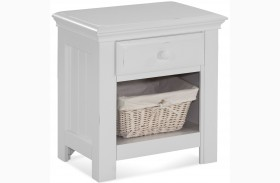 Jasmine White Nightstand