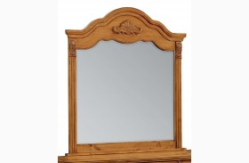 Georgetown Golden Honey Pine Mirror